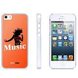 Чехол накладка Ou.case Music для Apple iPhone 5 / 5S, фото 2
