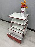 Візок для лешмейкера з бортиками на стільниці А81, фото 4