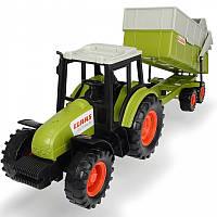 Трактор с прицепом CLAAS 36 см для детей Dickie Farm