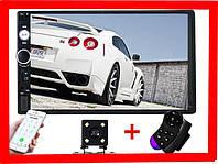 "Автомагнитола 2Din Pioneer 7010B с Экраном 7"" дюймов сенсор + USB, SD, FM, Bluetooth+КАМЕРА!, фото 1"