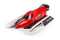 Катер на радиоуправлении WL Toys WL915 F1 High Speed Boat бесколлекторный, красный - 139896