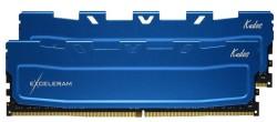 Оперативная память Exceleram 16 GB (2x8GB) DDR4 2666 MHz Kudos Blue (EKBLUE4162619AD) Б/У