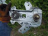 Стеклопод'емник передній лівий механічний Nissan Micra K11 1992-2002р.в., фото 3