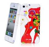 Чохол накладка Ou.case Love Red Apple iPhone 5 / 5S, фото 2