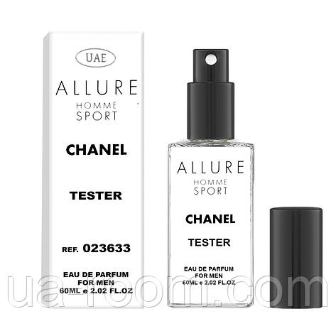 Тестер мужской UAE Chanel Allure homme Sport, 60 мл., фото 2