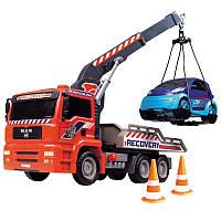 Эвакуатор Dickie AirPump с машиной (3806000)
