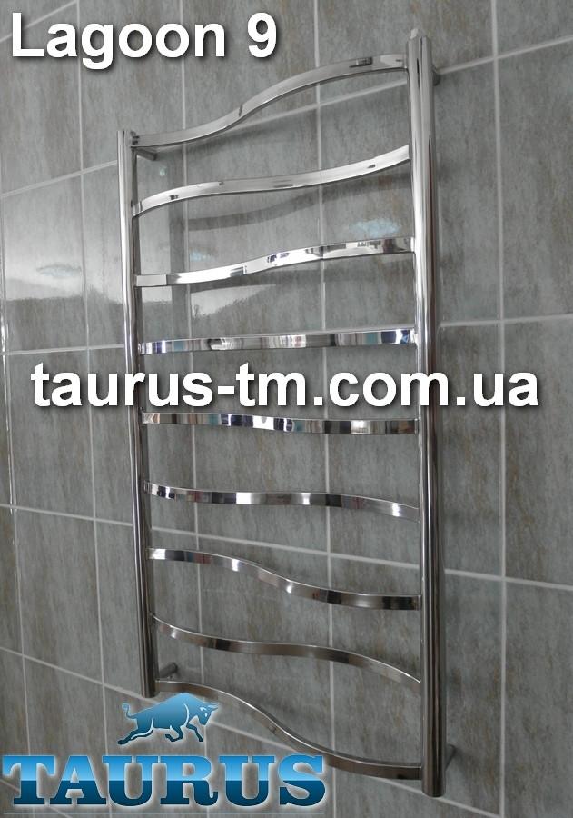 Полотенцесушитель Lagoon 9 для ванной комнаты / 950х450мм.