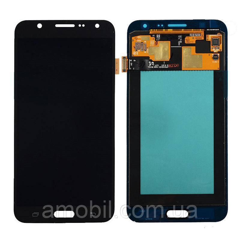 Дисплей Samsung OLED J701 / J701F / J701M Galaxy J7 Neo 2015 black