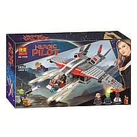 """Конструктор Super Heroes Bela 11235 """"Капитан Марвел и атака скруллов"""", 323 дет, фото 1"""