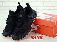 Кроссовки мужские Nike Air Presto Fleece в стиле Найк Аир Престо Флис черные