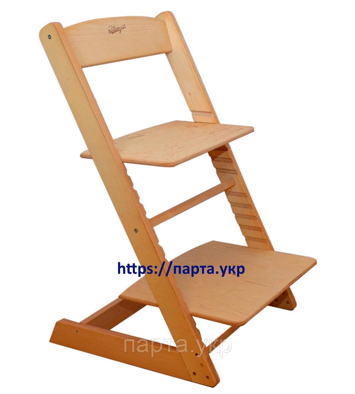 Детский стул регулируемый с подножкой