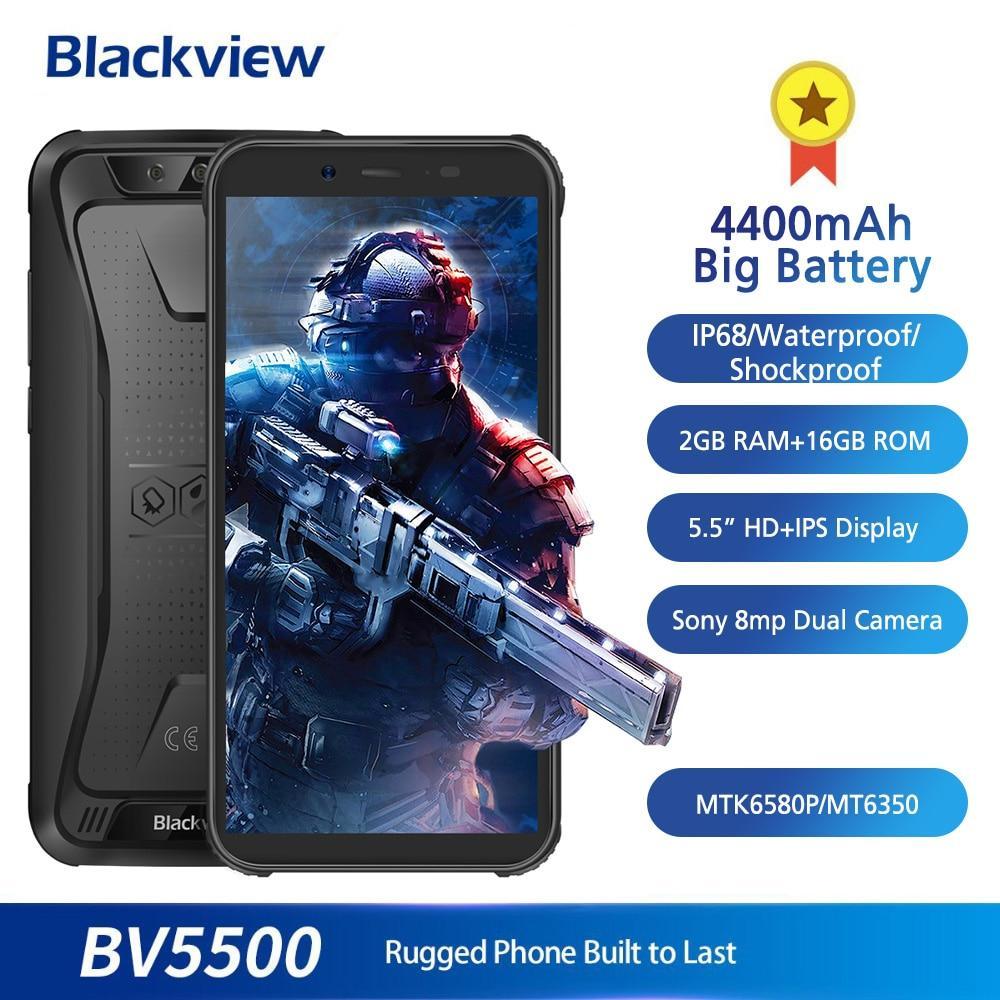 Blackview BV5500 противоударный водонепроницаемый смартфон IP68 4400 мАч