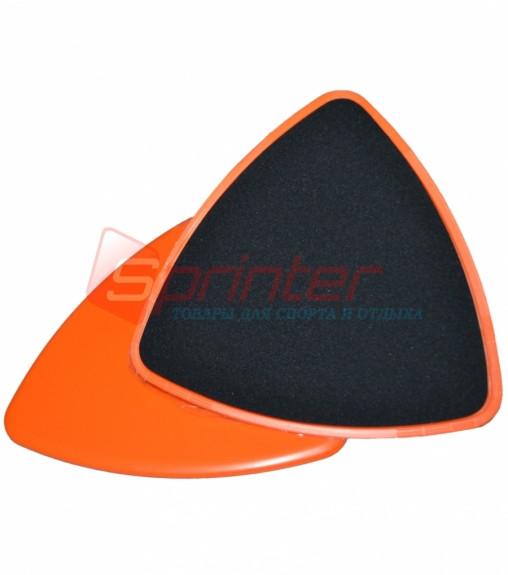 Диски(слайдеры) скольжения для фитнеса (глайдинга). YJ-02
