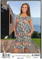 Летнее домашнее платье Cocoon
