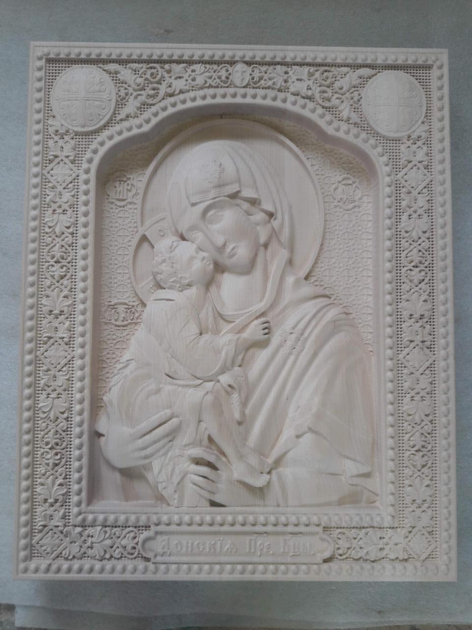 Ікона Донская Присвятая Богородица