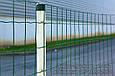 Сетка для ограждения в рулонах стальная оцинкованная с покрытием (зелёная), фото 5