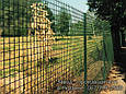Сетка для ограждения в рулонах стальная оцинкованная с покрытием (зелёная), фото 7