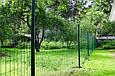Сетка для ограждения в рулонах стальная оцинкованная с покрытием (зелёная), фото 9