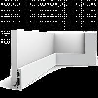 Плинтус напольный Orac Decor Axxent SX157,(6.6x1.3x200 см),лепной декор из дюрополимера.
