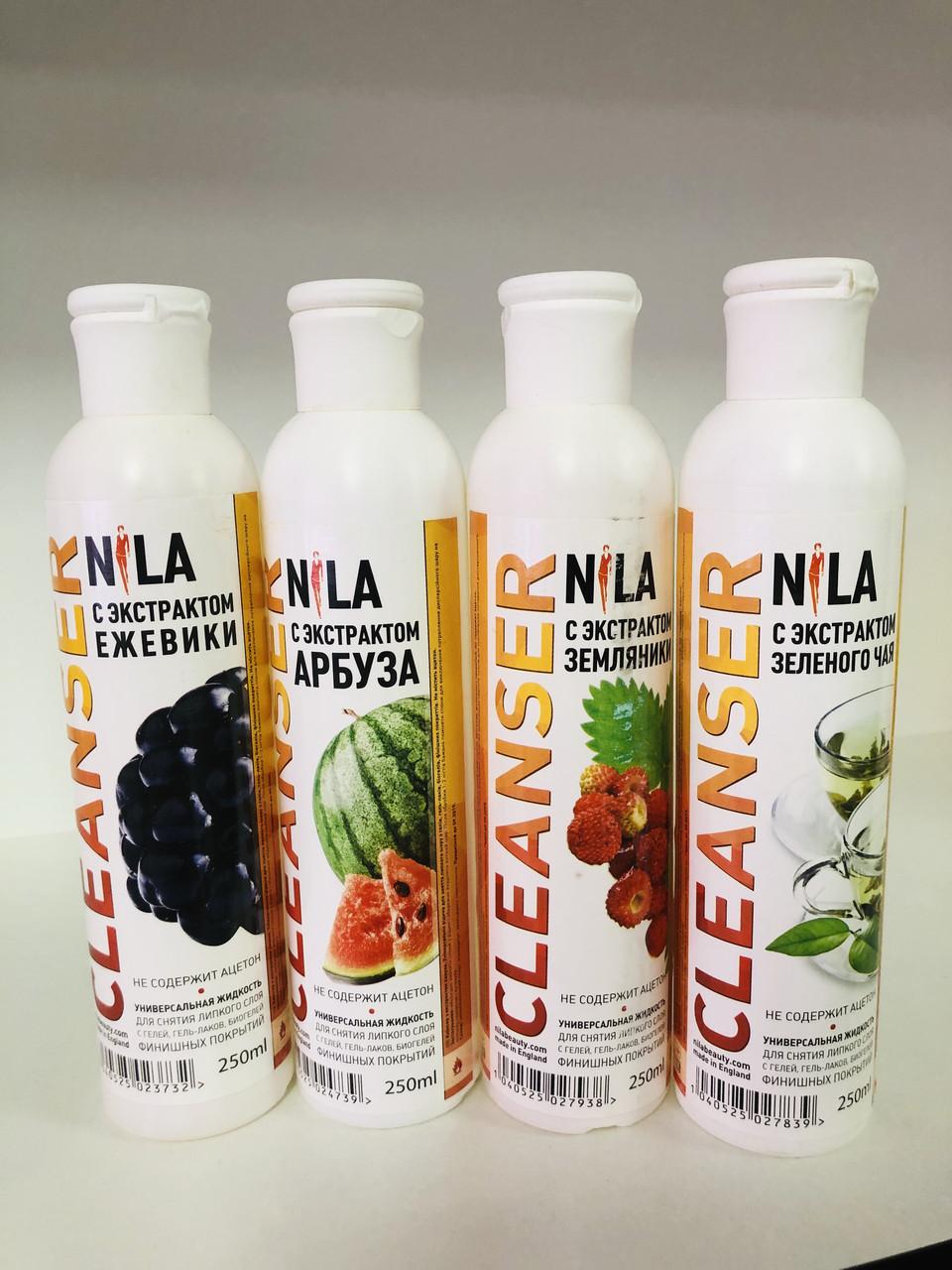Nila Cleanser Средство для снятия липкого слоя в ассортименте, 250 мл