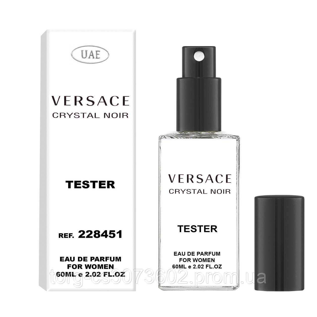 Тестер женский UAE Versace Crystal Noir, 60 мл.