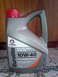 Масло моторне (4L) Eurolite 10W40 (напівсинтетична)