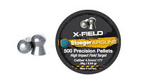 92104500005S Пульки Stoeger X-Field Target 4.5мм/.177 0.56g (500шт.) (92104500005S)