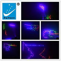 Лазерный проектор BIG DIPPER B102 RGB 4 линейный лазер видео, фото 1