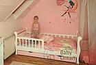 Детская кровать от 3 лет с бортиками для девочки Miss Secret Baby Dream, фото 7