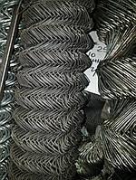 Сетка Рабица, Ячейка 35х35, Диаметр 1.6, Рулон 1.5х10 Чёрная