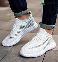 Кросівки чоловічі сітка білі