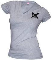 9965 Футболка тактическая женская дл.рукав Vertx p.L (серый) (9965)