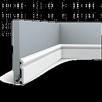 Плинтус напольный Orac Decor Axxent SX137,(9.9x1.5x200 см),лепной декор из дюрополимера.