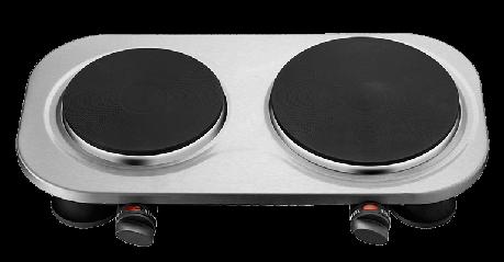 Электроплита ECG EV 2510 Stainless 1000 Вт / 1500 Вт, фото 2