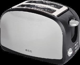 Тостер ECG ST 968 Нержавеющая сталь 900 Вт, фото 2