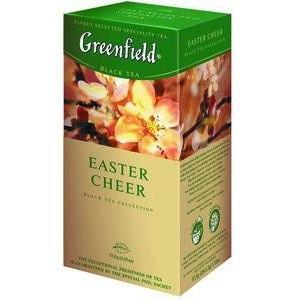 Пакетированный чай Greenfield Easter Cheer 1,5 грамм 25 пакетов (черный с цитрусом и карамелью)