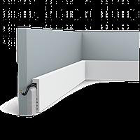Плинтус напольный Orac Decor Axxent SX171,(10x2.2x200 см),лепной декор из дюрополимера.