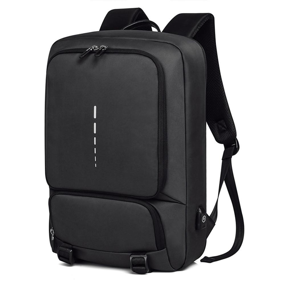 Деловой бизнес рюкзак Kaka 505 для ноутбука и планшета, с RFID защитой, 23л