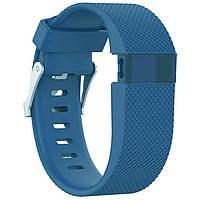 Силиконовый ремешок для фитнес браслета Fitbit Charge HR - Blue S