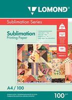 Бумага для сублимационной печати Lomond 100г/м, А4/100 листов