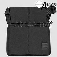 Сумка синтетическая плечевая с кобурой A-line А391, черная, фото 1