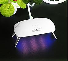 УФ / Светодиодная портативная Лед лампа 12 Вт / 6 лампы - UV / LED Nail Lamp, 12W / 6 LED's