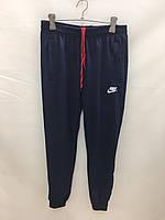 """Спортивные штаны подростковые для мальчиков """"Nike""""  от 8 до 12 лет, темно-синие"""