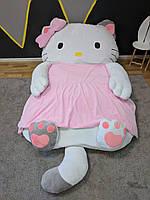 Детская мягкая кровать игрушка Хелло Китти