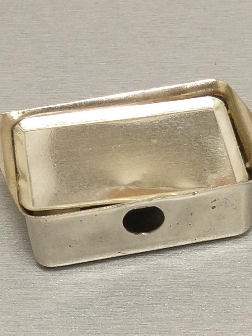 Корпу монтажний металічний під 3 гн.F