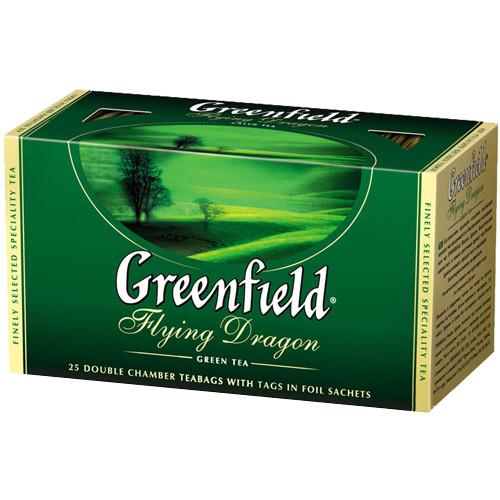 Пакетированный чай Greenfield Flying Dragon 1,5 грамм 25 пакетов (зеленый)