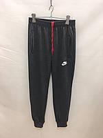 """Спортивные штаны подростковые для мальчиков """"Nike""""  от 8 до 12 лет, темно-серые"""