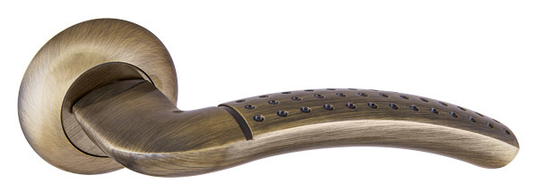Ручка раздельная Punto (Пунто) LOGICA TL ABG-6 зеленая бронза