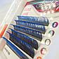 Двухцветные Ресницы black-blue С 0.07 (8-13 мм) от Beauty Eyes, фото 5