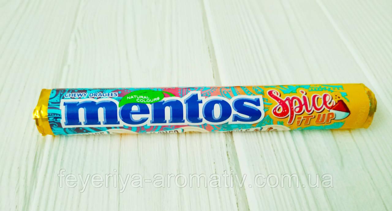 Жевательные конфеты с пряным вкусом Mentos Spice it up 37,5гр
